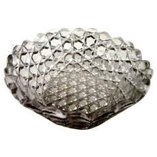 EAPG: O'hara Glass - Berry Bowl - Pattern Glass, c1880