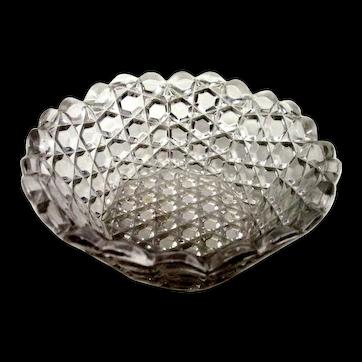 EAPG: O'hara Glass - Berry Bowl - Pattern Glass, c1880