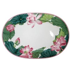 "Villeroy & Boch Jade 16"" Serving Platter W Germany"