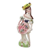 Kreiss & Co Bavarian Dancing Girl Figurine