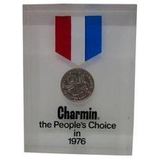 "Charmin ""THE PEOPLE'S CHOICE IN 1976"" Bicentennial Advertising"