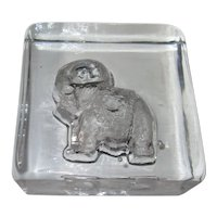 Scandinavian Elephant Ice Sculpture by Lars Hellsten