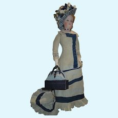 Large Travel/Carpet Bag for Fashion Doll