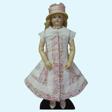 3 Piece Huret Reproduction Dress and Undergarments
