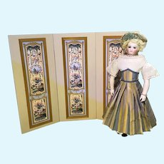 "18"" Beige Screen for Dolls"