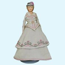 """Rare 16"""" Wax Fashion Doll"""