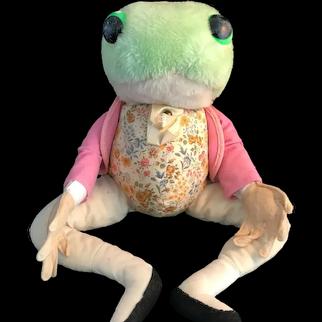Vintage Jeremy Fisher Frog by Eden Toys