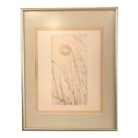 """Late Summer Wind"" by Janet Morgan, signed & framed"