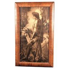 Sir Galahad Print in Stunning Frame
