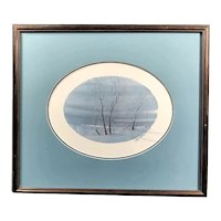 """""""Silent Eve"""" signed & numbered by P.B. Moss, Framed & Matted"""