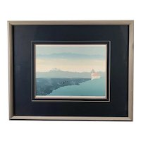 """""""Island Watch"""" Serigraph by Brett Barney, Signed & Numbered"""