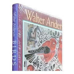 """BIRDS"" by Mississippi artist Walter Anderson, 1990, 1st ed., New/Sealed, HC DJ"