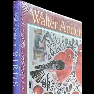 """BIRDS"" by Mississippi artist Walter Anderson, 1990, 1st ed., New/Sealed, HC DJ"