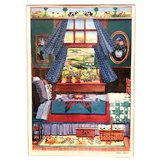"""""""Morning Star"""" print by Diana Schmidt, signed numbered"""