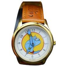 1993 Vintage Disney Aladdin Genie Limited Edition Watch