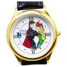 1993 SLEEPING BEAUTY Disney Watch Collectors Club Series II Limited Edition FOSSIL COA