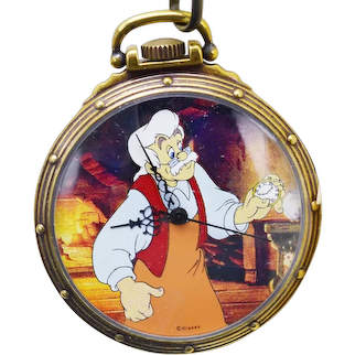 1993 Pinocchio Disney Watch Collectors Club Series II Limited Edition FOSSIL