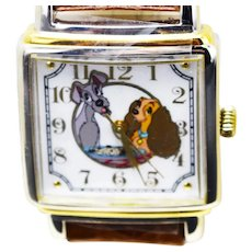 1993 Lady And The Tramp Disney Watch Collectors Club Series II Limited Edition FOSSIL