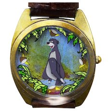 1993 Jungle Book Disney Watch Collectors Club Series II Limited Edition FOSSIL COA