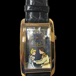 1993 Cinderella Disney Watch Collectors Club Series II Limited Edition FOSSIL