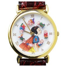 1993 Snow White Disney Watch Limited Edition Pedre