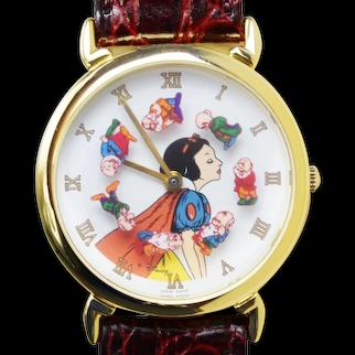 1993 Snow White Disney Watch Limited Edition Pedre