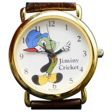 1992 Jiminy Cricket Limited Edition Watch Pedre