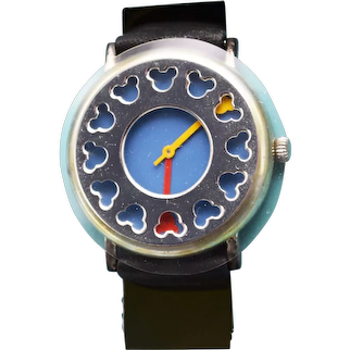 1992 Disney Michael Graves Mickey Logo Watch Limited Edition 1st Design Series