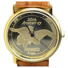 Disney 1991 Dumbo The Elephant 50th Anniversary Men's watch