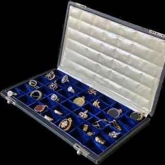 Edwardian 42-slot Box