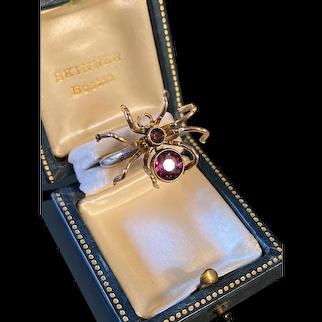 Victorian Spider Conversion Ring
