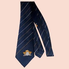 1960s-70s African country club tie Mt Kenya Safari Club