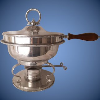 1950s-60s Buehner-Wanner buffet chafing dish server/warmer set | Thanksgiving, catering