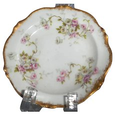1903 Theodore Haviland Limoges porcelain butter pat plate