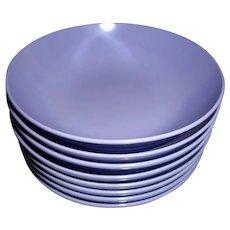 8 Royalon Corsage Melmac dessert/nut bowls MINT set