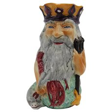 Father Neptune Staffordshire Toby Jug