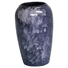 Early 20th Century Arts & Crafts Blue Crystalline Glaze Vase