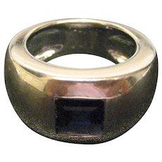 Chaumet Paris 18K White Gold Iolite Ring