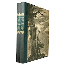 Jane Eyre Wuthering Heights Charlotte Bronte  Emily Bronte  Illustrated Fritz Eichenberg First Edition Thus