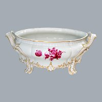 Nymphenburg Porcelain Cache Pot Baroque Style of 18th Century