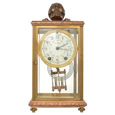 Seth Thomas Empire #6 Skull Crossbones Clock Presented to Secretary of the Navy