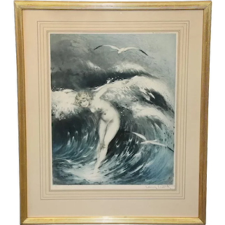 Etching by Louis Icart