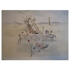 Two Signed Dali Lithographs