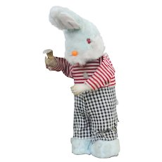 Vintage 1950s Max Carl Wind-Up Toy Rabbit