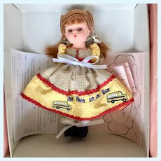 """Madame Alexander Wheels on the Bus Doll 8"""""""