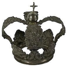 Vintage Silver Crown From Bolivia