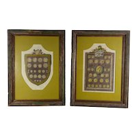 English and Roman 18th Century Intaglio Prints - A Pair