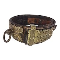 19th Century Dog Collar