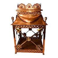 Vintage Copper Lantern