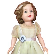 Shirley Temple Doll - 1957 Flirty-eyed 19 inch - by Ideal